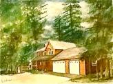 Huis in Californie (uit collectie)