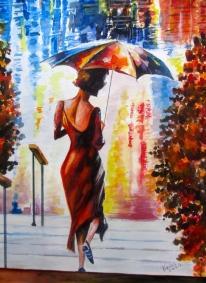 Afspraak in de regen